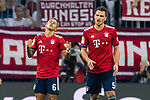 06.10.2018, Allianz Arena, Muenchen, GER, 1.FBL,  FC Bayern Muenchen vs. Borussia Moenchengladbach, DFL regulations prohibit any use of photographs as image sequences and/or quasi-video, im Bild enttaeuscht nach dem Tor zum 0-2 Thiago (FCB #6) und Mats Hummels (FCB #5) <br /> <br />  Foto &copy; nordphoto / Straubmeier