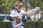Orange, CA 05/17/14 - Justin Straker (Arizona State #8) in action during the 2014 MCLA Division I Men's Lacrosse Championship game between Arizona State and Colorado at Chapman University in Orange, California.  Colorado defeated Arizona State 13-12.