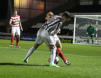 Kenny McLean in the St Mirren v Hamilton Academical Scottish Communities League Cup match played at St Mirren Park, Paisley on 25.9.12.