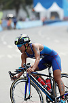 Ai Ueda (JPN),<br /> AUGUST 20, 2016 - Triathlon : <br /> Women's Final <br /> at Fort Copacabana <br /> during the Rio 2016 Olympic Games in Rio de Janeiro, Brazil. <br /> (Photo by Koji Aoki/AFLO SPORT)