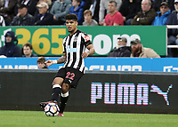 Newcastle United's DeAndre Yedlin<br /> <br /> Photographer Rich Linley/CameraSport<br /> <br /> The Premier League -  Newcastle United v Liverpool - Sunday 1st October 2017 - St James' Park - Newcastle<br /> <br /> World Copyright &copy; 2017 CameraSport. All rights reserved. 43 Linden Ave. Countesthorpe. Leicester. England. LE8 5PG - Tel: +44 (0) 116 277 4147 - admin@camerasport.com - www.camerasport.com