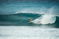 Pipeline, North Shore of Oahu, Hawaii Friday December 19 2014) Gabriel Medina (BRA). - The final stop of the 2014  World Championship Tour, the Billabong Pipe Masters in Memory of Andy Irons, was  ccompleted today in NW double overhead surf. <br /> Gabriel Medina (BRA) became the first ever Brazilian World Champion after both rival contenders , Kelly Slater (USA) and Mick Fanning (AUS) were eliminated from the contest. Medina went onto finish 2nd overall behind Julian Wilson (AUS). <br /> In the overlapping heat format Wilson surf three consequent heats and still had enough entry to take out the 30 minute final.<br /> By winning the final Wilson also won the covered Vans Triple Crown of Surfing for best overall performance through the whole Triple Crown.<br /> <br /> The Billabong Pipe Masters in Memory of Andy Irons will determine this year&rsquo;s world surfing champion as well as those who qualify for the elite tour in 2015. As the third and final stop on the Vans Triple Crown of Surfing Series  the event will also determine the winner of the revered three-event leg.<br /> <br />  Photo: joliphotos.com
