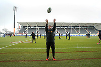 Jaguares captain's run at AMI Stadium in Christchurch on Friday, 5 July 2019. Photo: Martin Hunter / lintottphoto.co.nz