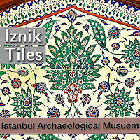 Iznik Ceramic Glazed Arabesque Tiles Art, Pictures, Photos, Images, Turkey