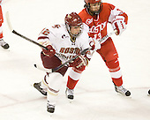 Mary Restuccia (BC - 22), Kaleigh Fratkin (BU - 13) - The visiting Boston University Terriers defeated the Boston College Eagles 1-0 on Sunday, November 21, 2010, at Conte Forum in Chestnut Hill, Massachusetts.
