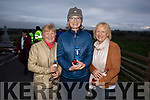 Ann Coffey, Francis and Mary O'Brien attending the annual Dawn Mass in Annagh Graveyard on Easter Sunday morning.