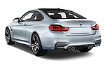 Car pictures of rear three quarter view of 2016 BMW M4 2 Door Coupe Angular Rear