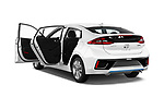 Car images of 2017 Hyundai Ioniq-Hybrid Executive 5 Door Hatchback Doors