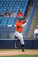 Cole Brannen (6) of The Westfield School in Elko, Georgia playing for the Baltimore Orioles scout team during the East Coast Pro Showcase on August 3, 2016 at George M. Steinbrenner Field in Tampa, Florida.  (Mike Janes/Four Seam Images)