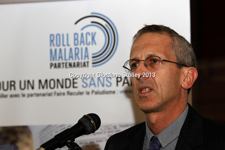 DURBAN - 9 October 2013 - Dr Robert D Newman, the Director of the Global Malaria Programme at the World Health Organization, speaks at a press conference where it was announced that South Africa aims to eliminate malaria by 2018. Picture: Allied Picture Press/APP