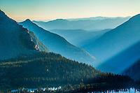Sunset, Hidden Lake, Glacier NP