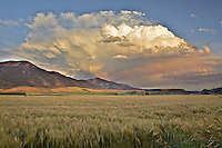 Thunderhead, Sunset, Swan Valley, Idaho