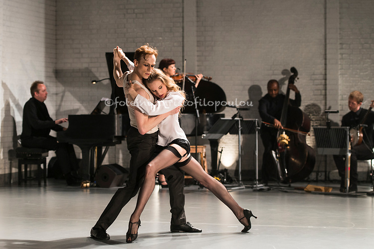 Whelan/Watson: Other Stories <br /> <br /> A new mixed programme of modern dance opens at the Linbury Studio Theatre, Royal Opera House, Covent Garden 09.07.2015. The programme features three duets: First and Wait by Javier De Frutos, The Song We Share by Dani&egrave;le Desnoyers and The Ballad of Mack and Ginny by Arthur Pita, and two solos: Dance Me to the End of Love by Arlene Phillips (Watson) and Short Ride Out by Annie-B Parson (Whelan).<br /> <br /> Dancers:<br /> Wendy Whelan, Edward Watson<br /> <br /> Designs<br /> Jean-Marc Puissant<br /> Lighting design<br /> Bruno Poet<br /> Music director<br /> Frank Moon<br /> <br /> <br /> see www.dancetabs.com<br /> photo - &copy; Foteini Christofilopoulou<br /> <br /> By kind permission of the Royal Opera House