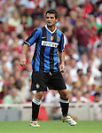Inter Milan's Cristian Chivu in action. .Pic SPORTIMAGE/David Klein