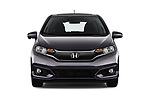 Car photography straight front view of a 2018 Honda Fit EX CVT 5 Door Hatchback