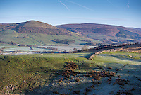 The Hodder Valley from Hall Hill, Lancashire.