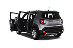 Car images close up view of a 2018 Jeep Renegade Limited 5 Door SUV doors