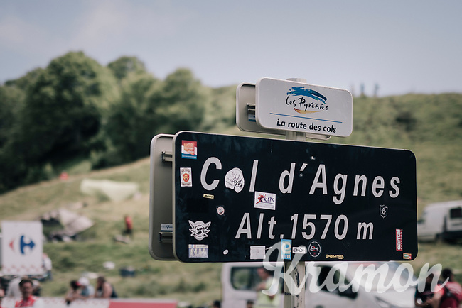 2nd climb of the day: Col d'Agnes<br /> <br /> 104th Tour de France 2017<br /> Stage 13 - Saint-Girons &rsaquo; Foix (100km)