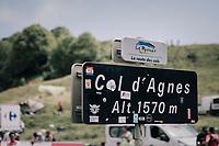 2nd climb of the day: Col d'Agnes<br /> <br /> 104th Tour de France 2017<br /> Stage 13 - Saint-Girons › Foix (100km)