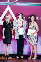 At the center, Ana Maria Llopis during the 25th edition of FEDEPE Awards at Jardines de Cecilio Rodriguez in Madrid, Spain. July 26, 2016. (ALTERPHOTOS/BorjaB.Hojas)