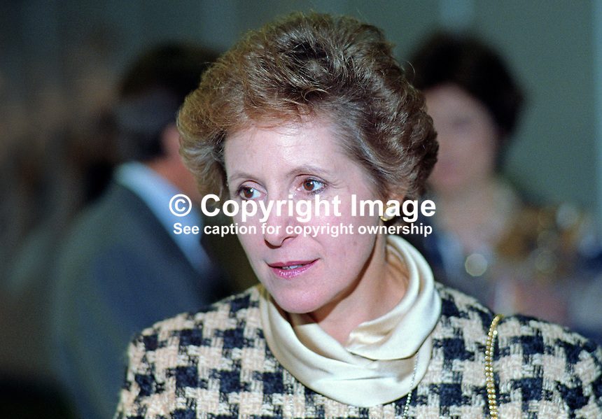 Norma Major, wife of John Major, MP, Prime Minister, UK, leader, Conservative Party, 19921066NM2.<br />