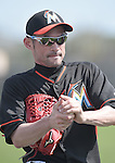 Ichiro Suzuki (Marlins),<br /> FEBRUARY 25, 2014 - MLB :<br /> Miami Marlins spring training camp in Jupiter, Florida, United States. (Photo by AFLO)