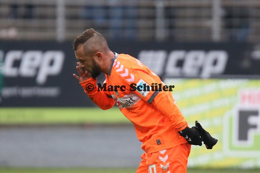 Stephan Schroeck (Fuerth) - SV Darmstadt 98 vs. SpVgg. Greuther Fuerth, Stadion am Boellenfalltor
