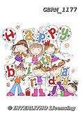 Roger, CHILDREN BOOKS, BIRTHDAY, GEBURTSTAG, CUMPLEAÑOS, paintings+++++_RM-Girl5-8group2,GBRM1177,#bi# ,party ,everyday ,everyday