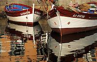 France/Corse/Corse-du-Sud/2A/Ajaccio: Pointus sur le port