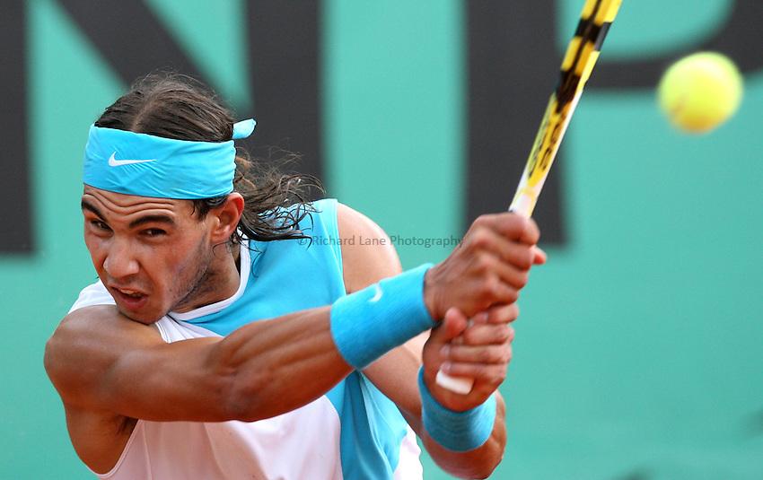 Photo: Maarten Straetemans/Richard Lane Photography..Franch Open, Roland Garros 2007. 29/05/2007..Rafael Nadal.