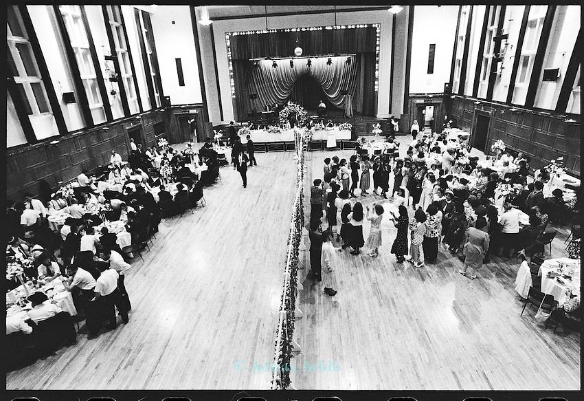 Hasidic Jewish wedding , Stamford Hill, London