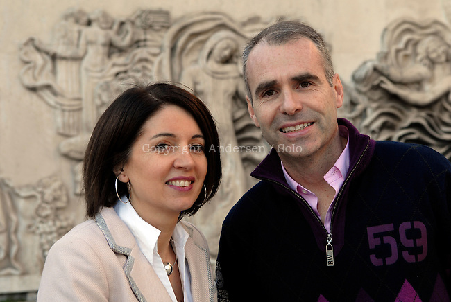 Catherine Solano et Pascal Sutter