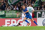 10.08.2019, wohninvest WESERSTADION, Bremen, GER, DFB-Pokal, 1. Runde, SV Atlas Delmenhorst vs SV Werder Bremen<br /> <br /> im Bild<br /> Jubel 1:2, <br /> Tom Schmidt (SV Atlas Delmenhorst #08) bejubelt seinen Treffer zum 1:2, <br /> <br /> während DFB-Pokal Spiel zwischen SV Atlas Delmenhorst und SV Werder Bremen im wohninvest WESERSTADION, <br /> <br /> Foto © nordphoto / Ewert