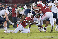 Stanford, CA - November 26, 2016: Alameen Murphy  during the Stanford vs Rice football game at Stanford Stadium. The Cardinal defeated the Owls 41-17.
