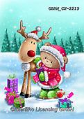Roger, CHRISTMAS ANIMALS, WEIHNACHTEN TIERE, NAVIDAD ANIMALES, paintings+++++,GBRMCX-2219,#xa#