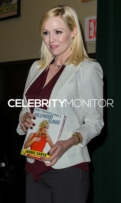 "NEW YORK, NY, USA - MARCH 04: Jennie Garth Signs Copies Of Her Book ""Deep Thoughts From A Hollywood Blonde"" at Barnes & Noble Tribeca on March 4, 2014 in New York City, New York, United States. (Photo by Jeffery Duran/Celebrity Monitor)"