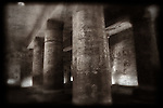 Temple of Sety I at Abydos, Egypt.