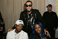 NEW YORK, NY - APRIL 27: Papoose, French Montana and Remy Ma at the after party for the 2017 Tribeca Film Festival Screening of Can't Stop, Won't Stop: The Bad Boy Story at The Hunt & Fish Club in New York City on April 27, 2017. Credit: Walik Goshorn/MediaPunch