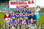 TOP TEAM: The Boheshill Ns, Clencar who won the Two Teacher Girls Schools Final at Austin Stack Park on Thursday front l-r: Lucy Knight, Imelda Taylor, Marie O'Connor and Brianna O'Connor. Centre l-r: Brenda O'Sullivan (trainer), Eibhli?s O'Connor, Anna Breen, Eva Cronin and Jack O'Connor (trainer). Back l-r: Collette Breen, Ciara O'Connor, Eileen Morris, Liah Knight and Rachel Breen. Missing from picture is trainer Mike Collins.