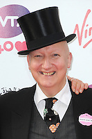 NON EXCLUSIVE PICTURE: PAUL TREADWAY / MATRIXPICTURES.CO.UK<br /> PLEASE CREDIT ALL USES<br /> <br /> WORLD RIGHTS<br /> <br /> British milliner Stephen Jones OBE attending the WTA Pre Wimbledon Party, at London's Kensington Roof Gardens.<br /> <br /> 20TH JUNE 2013<br /> <br /> REF: PTY 134225