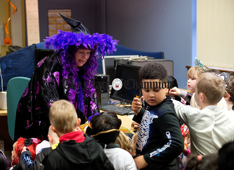 At the Clare Champion Halloween Party for Ennis NS and Holy family school children. Photograph by John Kelly.