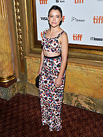 10 September  2018 - Toronto, Ontario, Canada. Tatiana Maslany. &quot;Destroyer&quot; Premiere - 2018 Toronto International Film Festival at the Winter Garden Theatre. Photo Credit: Brent Perniac/AdMedia<br /> CAP/ADM/MJT<br /> &copy; MJT/ADM/Capital Pictures