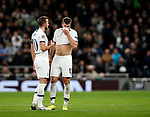 Tottenham's Harry Kane with Eric Dier during the UEFA Champions League match at the Tottenham Hotspur Stadium, London. Picture date: 26th November 2019. Picture credit should read: David Klein/Sportimage