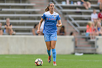 Bridgeview, IL - Sunday August 20, 2017: Katie Naughton during a regular season National Women's Soccer League (NWSL) match between the Chicago Red Stars and FC Kansas City at Toyota Park. KC Kansas City won 3-1.