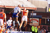 23/09/2000 Football League Division 3 Blackpool v Chesterfield<br /> <br /> 38208 Morrison header<br /> <br /> © Phill Heywood