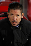 Atletico de Madrid´s coach Diego Pablo Simeone during 2014-15 `Copa del Rey´ Spanish Cup match at Vicente Calderon stadium in Madrid, Spain. January 07, 2015. (ALTERPHOTOS/Victor Blanco)