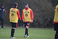 21.01.2016: Eintracht Frankfurt Training