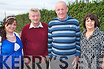 ATTENDED: Marie O'Mahony, Ballyheigue, Don Keane, Duagh and Liam and Maureen O'Mahony, Ballyheigue who attended the Pattern Day Mass at our Lady's Well in Ballyheigue on Monday.   Copyright Kerry's Eye 2008