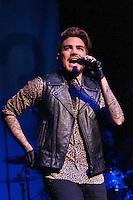 Adam Lambert in St Louis on 12.16.15 Now 96.3 Let It Snow Show