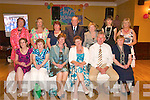 Retirement: Margaret Broderick, (seated 3rd right), pictured with her colleagues at The Listowel Arms Hotel on Saturday night, marking her retirement from Sliabh A Mhadra school, Ballyduff, after 37 years of service. Front l-r: Mary O'Connell, Breda O'Dwyer, Norma O'Carroll, Margaret Broderick, Jim McEllistrim, Kay Keane.  Back l-r: Margaret Slattery, Noreen Lynch, Ann White, Sean Quinlan, Bridie Quinlan, Sinead Keane, Rita Goulding. ..(Margaret Slattery 0879829847)